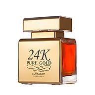 Nước Hoa LONKOOM PARFUM 24K Gold perfume for women EDP Sweet-fruity Fragrance 100ml thumbnail