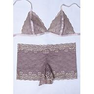 Bộ đồ lót nữ Sexy Bralette ren cao cấp R306 thumbnail
