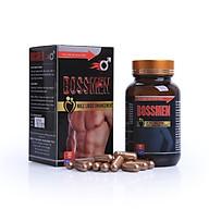 Thực phẩm tăng cường sinh lực, bảo vệ sức khỏe nam giới BOSSMEN (hộp 60 viên) thumbnail