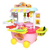 Bộ đồ chơi nấu đồ ăn nhanh xe đẩy 889-126 thumbnail