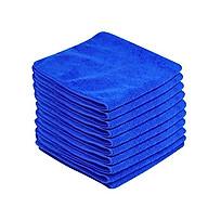Combo 10 khăn mềm lau dọn (30 x 30 cm) + kèm 1 set 3 móc dán hình ô thumbnail