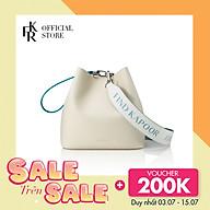 Túi đeo chéo nữ Pingo Bag 20 Basic Lettering Set FBPG20BLBGY - màu xám kết hợp thumbnail