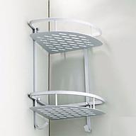 Kệ 2 tầng đựng đồ đa năng góc nhà tắm PD15 thumbnail
