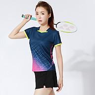 Áo thể thao cầu lông Nam Sunbatta Y-W2002 chất liệu 100% Polyester, nhẹ nhàng, khô thoáng, nhanh khô, không lưu lại mùi và vệt mồ hôi trên áo thumbnail