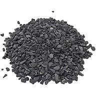 1kg đá sỏi màu đen mini - đá trang trí trồng cây - trang trí bể cá - sân vườn thumbnail