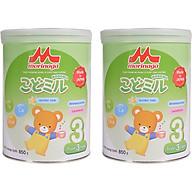 Combo 2 lon Sữa Morinaga số 3 Hương vani (Kodomil) 850g thumbnail