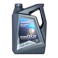 Nhớt động cơ AISIN ECSF1546P 15W-40 CF4 SG econTECH+ Semi Synthetic 6L thumbnail