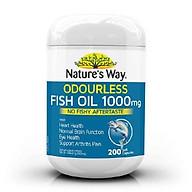 Nauture s Way Viên Uống Bổ Sung Omega 3-Nauture s Way Fish Oil 1000mg thumbnail