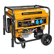 Máy phát điện động cơ xăng 5.5KVA INGCO GE55003 (100% dây đồng) - Hàng chính hãng thumbnail