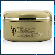 Mặt nạ ủ Wella SP Keratin Luxe Oil hair mask 150ml phục hồi tóc hư tổn cao cấp chính hãng Đức thumbnail