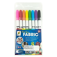 Bộ 8 Cây Bút Lông Vẽ Vải MA-FABRIC-8H thumbnail