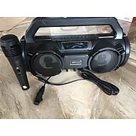 Loa Bluetooth Karaoke bkk - b98 đèn Led , Kèm Mic Hát Có Dây Đèn Led ( Hàng nhập khẩu ) thumbnail