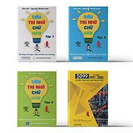 Combo 4 sách Bộ 3 tập Siêu Trí Nhớ Chữ Hán + 5099 Từ Vựng HSK1 HSK6 Từ Điển Tam Ngữ Anh Trung Việt thumbnail