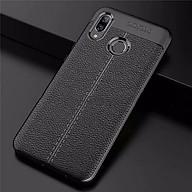 Ốp Lưng cao cấp Auto Focus Vân da cho điện thoại XIAOMI Redmi Note 7 - Hàng nhập khẩu (Màu Đen) thumbnail