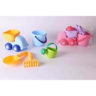 Set 5 món xúc cát kiêm đồ chơi tắm Toys House (màu mix ngẫu nhiên ) thumbnail
