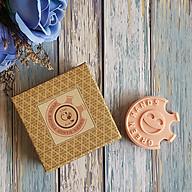 Xà phòng handmade FINGER SOAP đất sét hồng mịn da, dưỡng ẩm, chống trơn - FINGER SOAP PINK CLAY ECOLIFE KOREA thumbnail