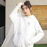 Áo Hoodie Cặp Đôi Nam Nữ Unisex Heo và Thỏ phong cách Hàn Quốc cá tính, Chất nỉ nhung dày mã HD18 - Tặng vòng tay thumbnail