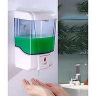 Hộp đựng xà phòng rửa tay cảm ứng tự động nhả xà phòng - Chạy pin thumbnail