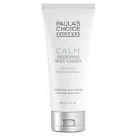 Kem dưỡng ẩm chống lão hóa, phục hồi da dầu nhạy cảm Paula s Choice Calm Restoring Moisturizer 60ml thumbnail