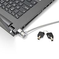 Khóa chống trộm Laptop cho cổng Kensington (Màu bạc) - Hàng nhập khẩu thumbnail