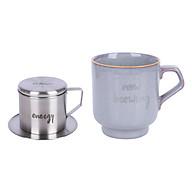 Bộ phin café và cốc sứ Sa Maison thumbnail