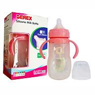 Bình sữa silicon siêu mềm cho bé BEREX cổ rộng 240ml- màu ngẫu nhiên thumbnail