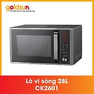 Lò vi sóng Goldsun CK2601- Điện tử 28L Hàng chính hãng thumbnail