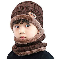 Mũ len kèm khăn quảng cổ NSTM cho bé thumbnail
