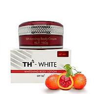 Kem dưỡng trắng da toàn thân chống nắng TH White SPF50 200g thumbnail