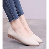 Giày búp bê nữ phong cách công sở kiểu dáng cơ bản V195 thumbnail