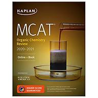 MCAT Organic Chemistry Review 2020-2021 Online + Book (Kaplan Test Prep) thumbnail