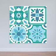 Decal hoa văn dán tường nhà bếp cực đẹp WD156 thumbnail