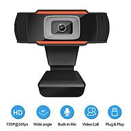 1080P Webcam Auto Focus USB Web Camera Built-in Noise Reduction Microphone for Laptop Desktop thumbnail