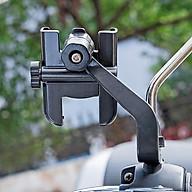 Giá đỡ kẹp điện thoại cho xe máy xe mô tô Selfiecom C2 - Chống trộm, chống rung lắc, dễ dàng lắp đặt thumbnail