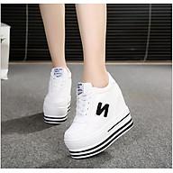 Giày bánh mì nữ đế độn cao 12cm 3 màu phong cách Hàn Quốc HN083BM thumbnail