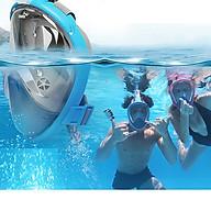 Mặt nạ bơi lặn - mặt nạ lặn biển du lịch - mặt nạ bơi có ống thở thumbnail