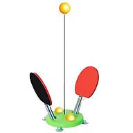 Bóng bàn tập phản xạ - Cột đánh bóng bàn giao đấu thông minh thumbnail