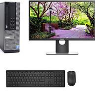 Bộ máy tính Để Bàn Dell Optiplex 9020 (Core i5 - 4570, Ram 4GB, SSD 120GB) Và Màn hình Dell 21.5 inch ( E2216H) Và bàn phím chuột Dell + Bàn Di chuột + Usb wifi - Máy đời mới - Chuyên dùng Làm việc - Học Tập - Giải Trí - Hàng Chính Hãng thumbnail