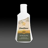 Nước rửa tay khô sát khuẩn dạng Gel hương hoa Nhài thương hiệu Ecocare Việt Nam (chai 100ml) thumbnail