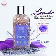 Sữa tắm Nhật Bản Cao cấp AVATAR Lavender 500ml - Cánh hoa thật cùng tinh chất thiên nhiên 100% thumbnail