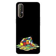 Ốp lưng dành cho Oppo Reno 3 Pro mẫu Rubik Màu Nước thumbnail