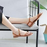 Dép sandal xỏ ngón quai mảnh nữ bệt học sinh nữ đẹp hàng hiệu phong cách hàn quốc mới-ML29 thumbnail