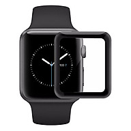 Miếng Dán Cường Lực Glass 3D 9H Full Màn Hình Cho Apple Watch 38mm - Hàng chính hãng thumbnail