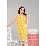 Bộ đồ ngủ xuân hè chất tơ đũi cao cấp Sweeeten your life - kiểu dáng Sunshine SXH2102 thumbnail