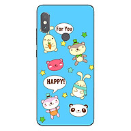 Ốp lưng dẻo cho điện thoại Xiaomi Redmi Note 5 Pro_0514 HAPPY02 - Hàng Chính Hãng thumbnail