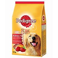 Đồ Ăn Cho Chó Vị Thịt Bò Và Các Loại Rau Củ Pedigree Dạng Túi 1.5kg thumbnail