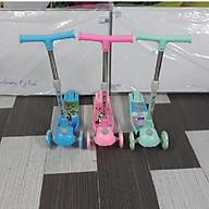 Xe trượt Scooter mẫu mới 2019 (hàng Cao cấp có giảm xóc + phanh chân) - Màu cho bé trai thumbnail