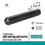 Loa bluetooth Lanith A21 kết nối tới 10m hỗ trợ TF,đài FM,USB,BT,AUX 3.5 kiểu dáng sang trọng âm thanh chuẩn Bass mạnh Tiện lợi khi mang đi, đi du lịch, dã ngoại - Hàng nhập khẩu - LWR00A21 thumbnail