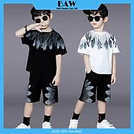 Set Đồ Bé Trai phong cách hàn quốc, chất thun cotton mát mịn thấm hút mồ hôi, thời trang trẻ em thương hiệu BAW mã 116-117 thumbnail