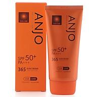 Kem chống nắng ANJO 365 SPF 50PA+++ Tặng 1 mặt nạ Jant Blanc thumbnail